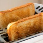 角型食パンとハードトースト